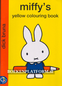 Miffy's Yellow Colouring Book
