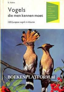 Vogels die men kennen moet