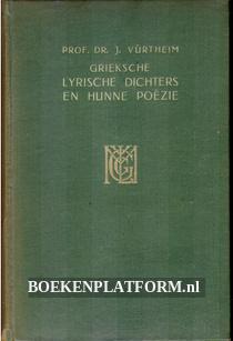 Grieksche Lyrische dichters en hunne poëzie
