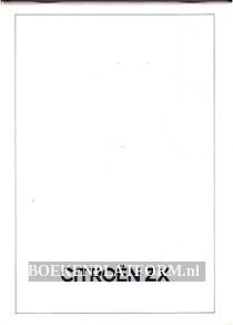 Citroen ZX technische beschrijving