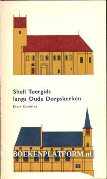 Shell toergids langs oude dorpskerken