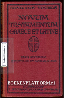 Novum Testamentum Graece et Latine 2