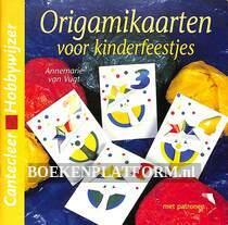 Origamikaarten voor kinderfeestjes