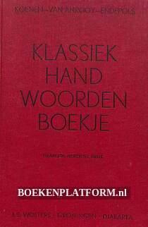 Klassiek handwoordenboekje