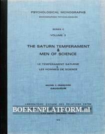 The Saturn Temperament & Men of Science