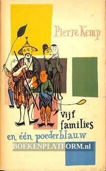 Vijf families en een poederblauw