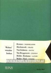 Wolters woordenboek Duits-Nederlands