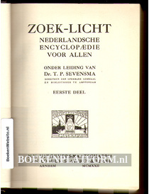 Zoek-licht Nederlandsche encyclopaedie voor Allen 1