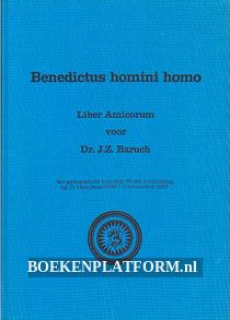 Benedictus homini homo