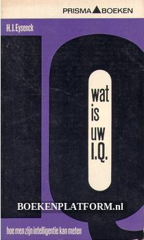 1063 Wat is uw I.Q.