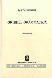 Griekse grammatica