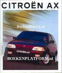 Citroen AX 1992 brochure