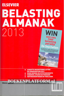Belasting Almanak 2013