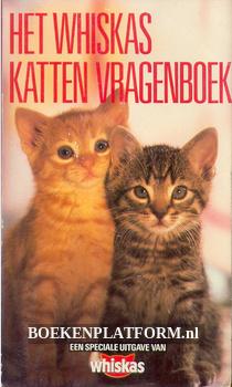 Het Whiskas katten vragen-boek