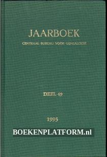 Jaarboek CBG deel 49 1995