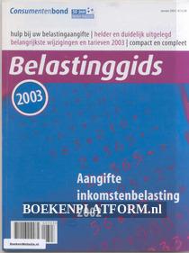 Belasting gids 2003