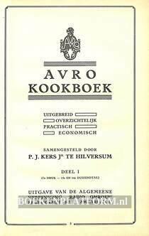 Avro Kookboek I