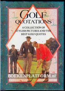 Golf Quotations