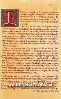 Naschrift bij De naam van de Roos