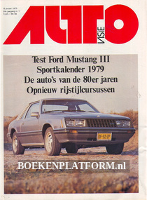 Autovisie 1979 Complete jaargang