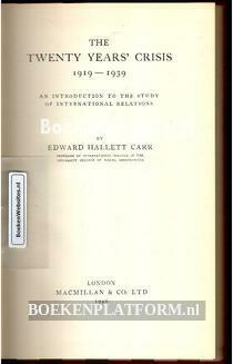 The Twenty Years' Crisis 1919-1939