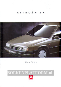 Citroen ZX Berline 1995 brochure