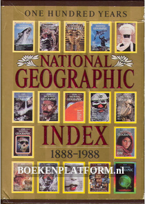 One hundred years National Geographic, Index 1888-1988