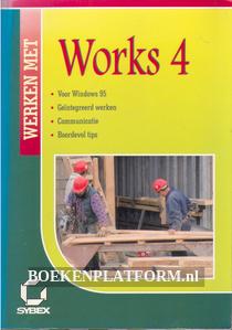Werken met Works 4 for Windows 95