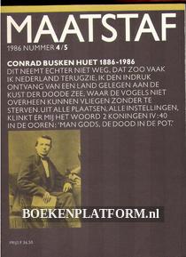 Maatstaf 4/5 1986