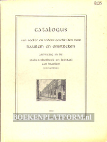 Catalogus Haarlem en Omstreken