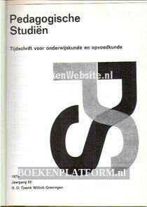 Pedagogische Studien jaargang 52