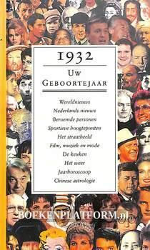 1932 Uw geboortejaar