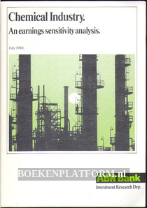 Chemical Industry, an earnings sensitivity analysis