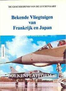 Bekende Vliegtuigen van Frankrijk en Japan
