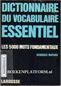 Dictionnaire du Vocabulaire Essentiel