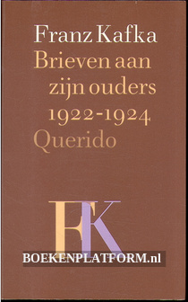 Brieven aan zijn ouders 1922-1924