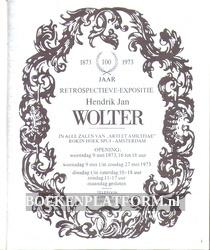 100 jaar retrospectieve expositie Hendrik Jan Wolter