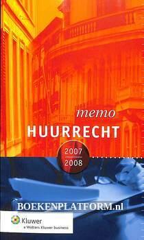 Memo Huurrecht 2007/2008