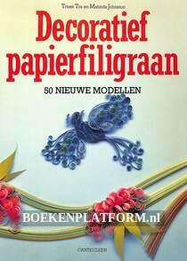 Decoratief papierfiligraan