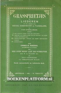 Grassprietjes of Liederen