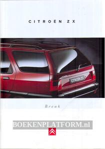 Citroen ZX Break brochure