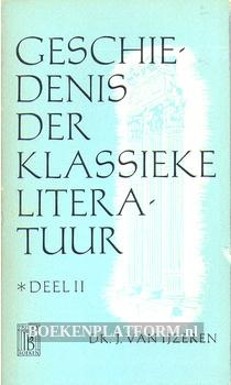 0330 Geschiedenis der klassieke literatuur II