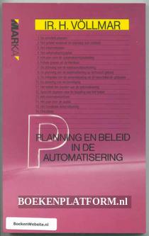 Planning en beleid in de automatisering