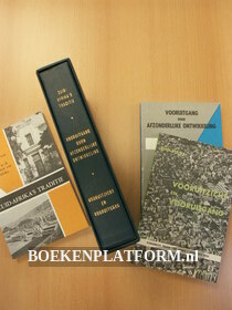 Cassette met drie boekjes over Zuidafrika