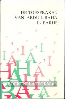 """Toespraken van """"Abdu'l-Baha in Parijs"""