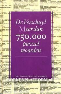 Meer dan 750.000 puzzelwoorden