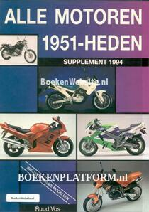 Alle motoren 1951-heden supplement 1994