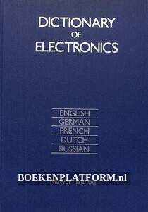Dictionary of Electronics, meertalig