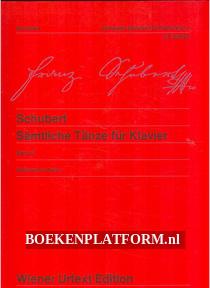 Schubert, Samtliche Tanze fur Klavier 2