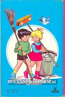 Mark en Mieke houden hun stoep schoon